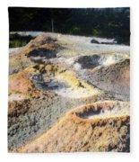 Thumb Paint Pots Yellowstone Np 1928 Fleece Blanket