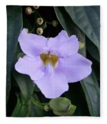 Thunbergia Fleece Blanket