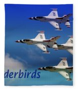 Thunderbirds Fleece Blanket