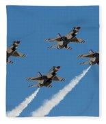 Thunderbirds Diamond Flyover Fleece Blanket