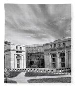 Thurgood Marshall Federal Judiciary Building Fleece Blanket