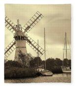 Thurne Windmill IIi Fleece Blanket