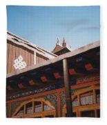 Tibet Potala Palace 8 Fleece Blanket