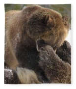 Ticklish Fleece Blanket