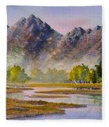 Tidal Flats Fleece Blanket