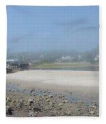 Tide Is Out Fleece Blanket