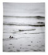 Tide Rolling In Fleece Blanket