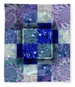 Tidepools Fleece Blanket