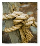 Tie The Knot Fleece Blanket