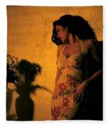 Tiffany Vase Fleece Blanket