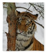 Tiger 2 Fleece Blanket