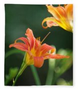 Tiger Lily And Bud   # Fleece Blanket