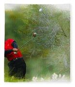 Tiger Woods - The Chevron World Challenge Fleece Blanket