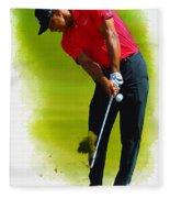 Tiger Woods - The Honda Classic Fleece Blanket