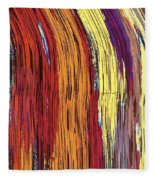 Tiger's Eye 12 Fleece Blanket