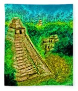 Tikal By Jrr Fleece Blanket