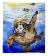 Tillyturtle Fleece Blanket