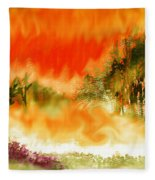 Timber Blaze Fleece Blanket