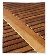 Timber Slats Fleece Blanket