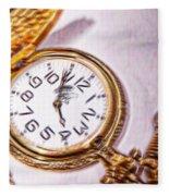 Time After Time Fleece Blanket