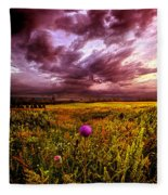 Time And Again Fleece Blanket