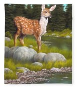 Time For A Drink Fleece Blanket