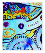 Time In Abstract 20130605 Long Fleece Blanket