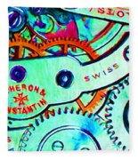 Time In Abstract 20130605m36 Long Fleece Blanket