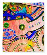 Time In Abstract 20130605p180 Long Fleece Blanket