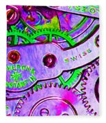 Time In Abstract 20130605p72 Long Fleece Blanket