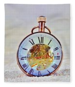 Time In The Sand Fleece Blanket