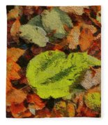 Time Of The Season Fleece Blanket