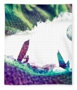 Time Surfer Fleece Blanket