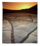 Timeless Death Valley Fleece Blanket