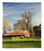 Timeworn Fleece Blanket