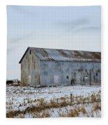 Tin Barn Color  Fleece Blanket