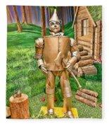 Tin Man Fleece Blanket