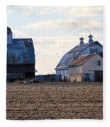Tin Roof Farm Fleece Blanket