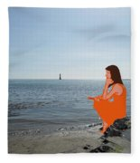 Tin Whistle 3 Fleece Blanket