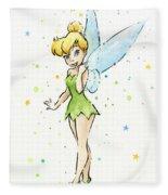Tinker Bell Fleece Blanket
