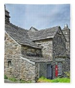 Tintagel Post Office  Fleece Blanket