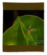 Tiny Fly Fleece Blanket
