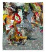 Tiny Tot Dancers Fleece Blanket