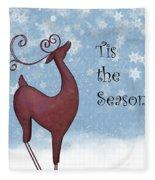 Tis The Season Fleece Blanket