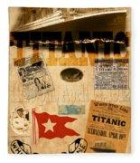 Titanic Fleece Blanket