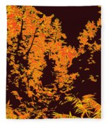 Titian Woodland Fleece Blanket