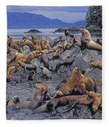 Tk0440, Thomas Kitchin Steller Sea Fleece Blanket