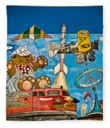 To Be Young Again Fleece Blanket