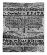 'to Counterfeit Is Death Fleece Blanket