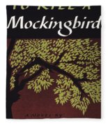 To Kill A Mockingbird, 1960 Fleece Blanket